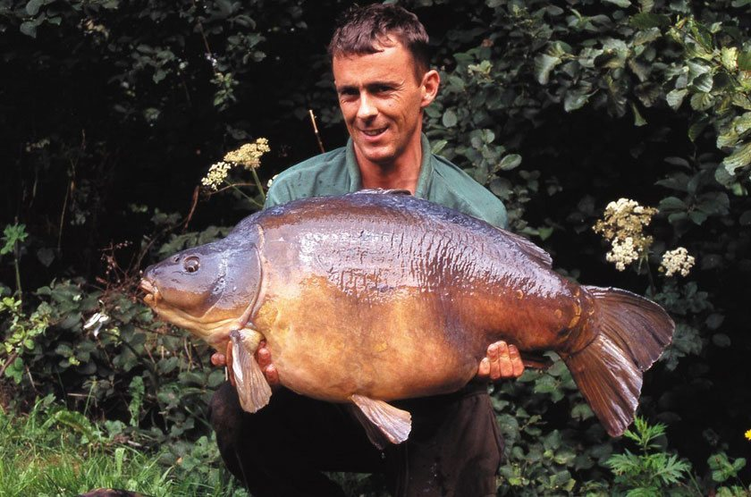 Shoulders (43lb 10oz) / Найджел Шарп (Nigel Sharp) / Horton Church Lake