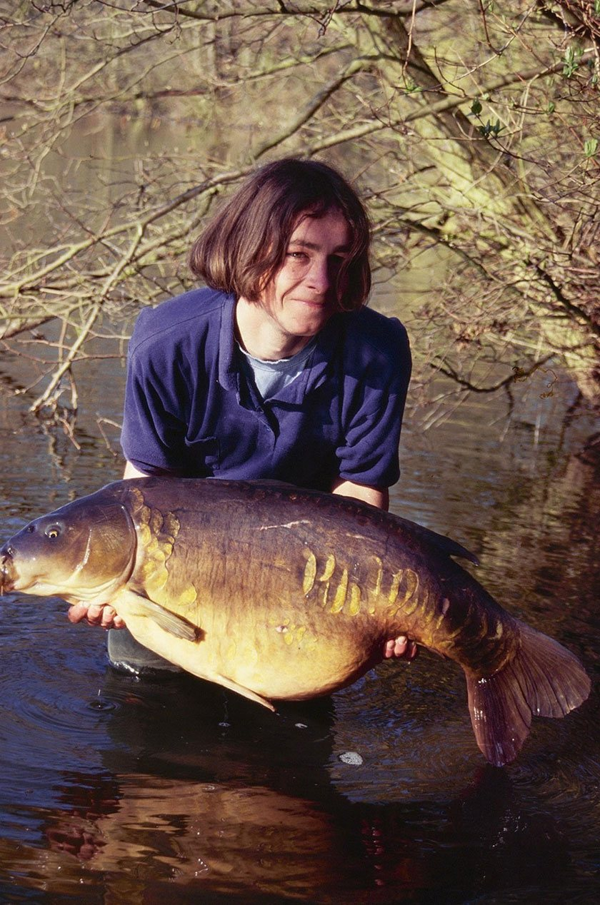 Bazil (45lb 6oz) / Терри Хирн (Terry Hearn) / Yateley North Lake / 1995