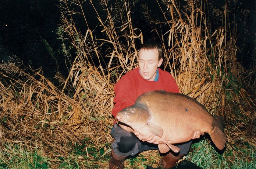 Chop Dorsal (50lb 4oz) / Martin Locke (Мартин Локк) / Herts Club Water / 1994 г.