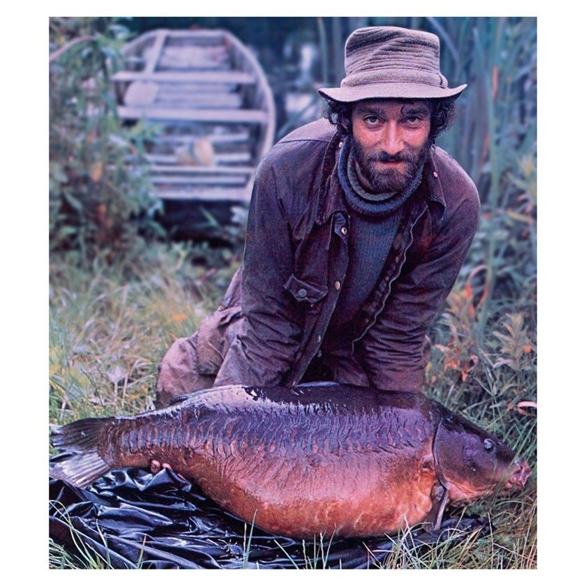 The Bishop (51lb 8oz) / Крис Йейтс (Chris Yates) / Redmire Pool / 1980 г.