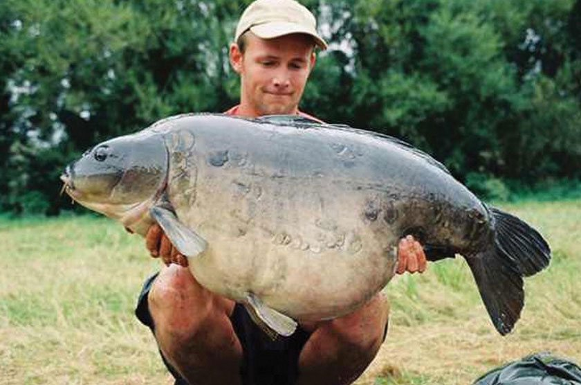 Fat Lady (49lb 6oz) / Даррелл Пек (Darrell Peck) / St Ives Lagoon