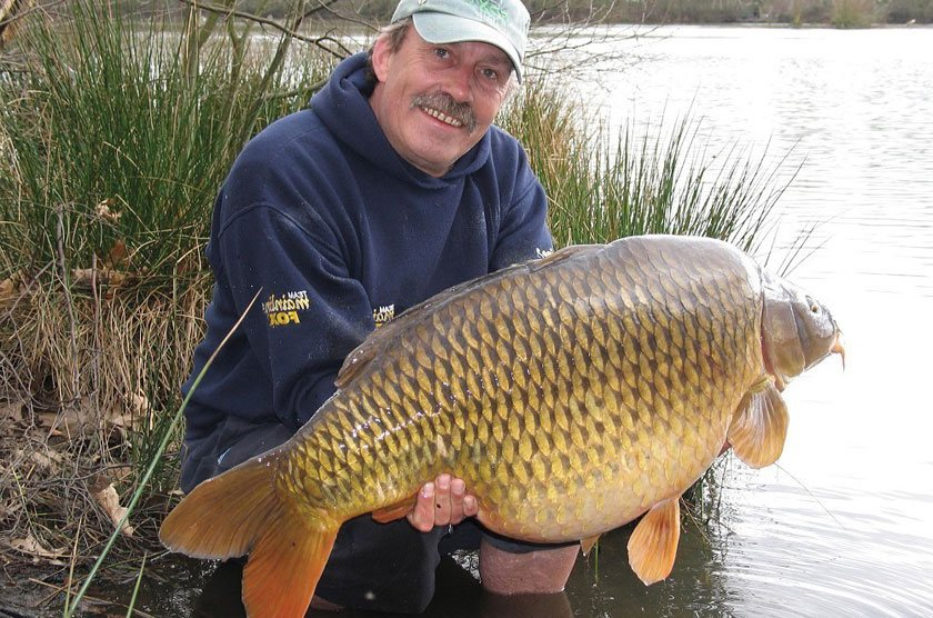 Charlie's Mate (44lb 4oz) / Ян Чиллкотт (Ian Chillcott) / Frimley Pit 3