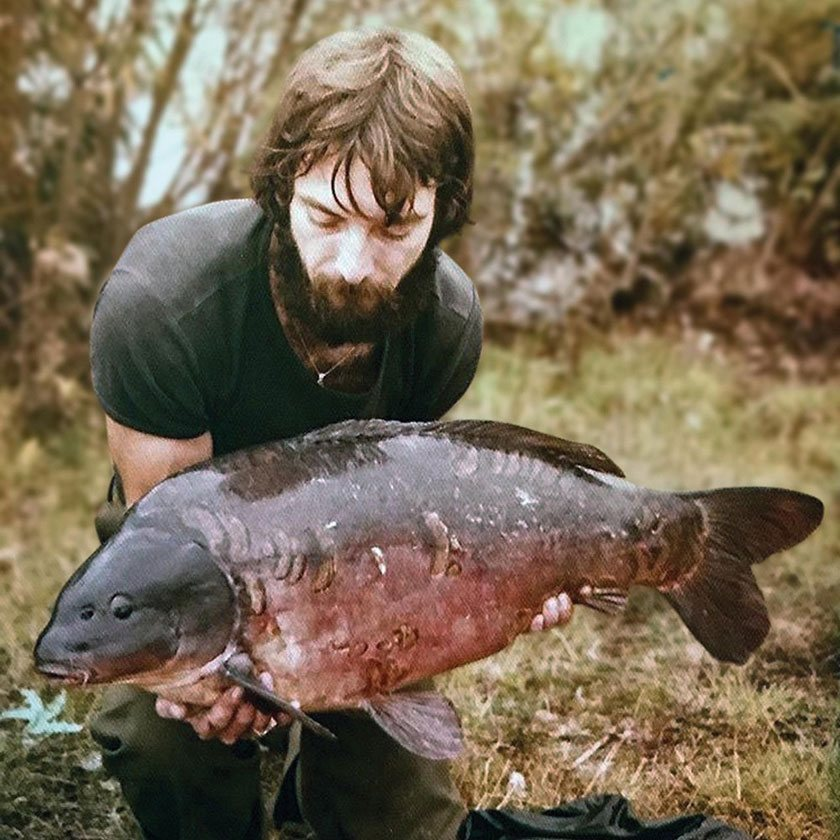 Longfield Forty (38lb 8oz)/ Пит Спрингейт (Pete Springate) / Longfield / 1978 г.
