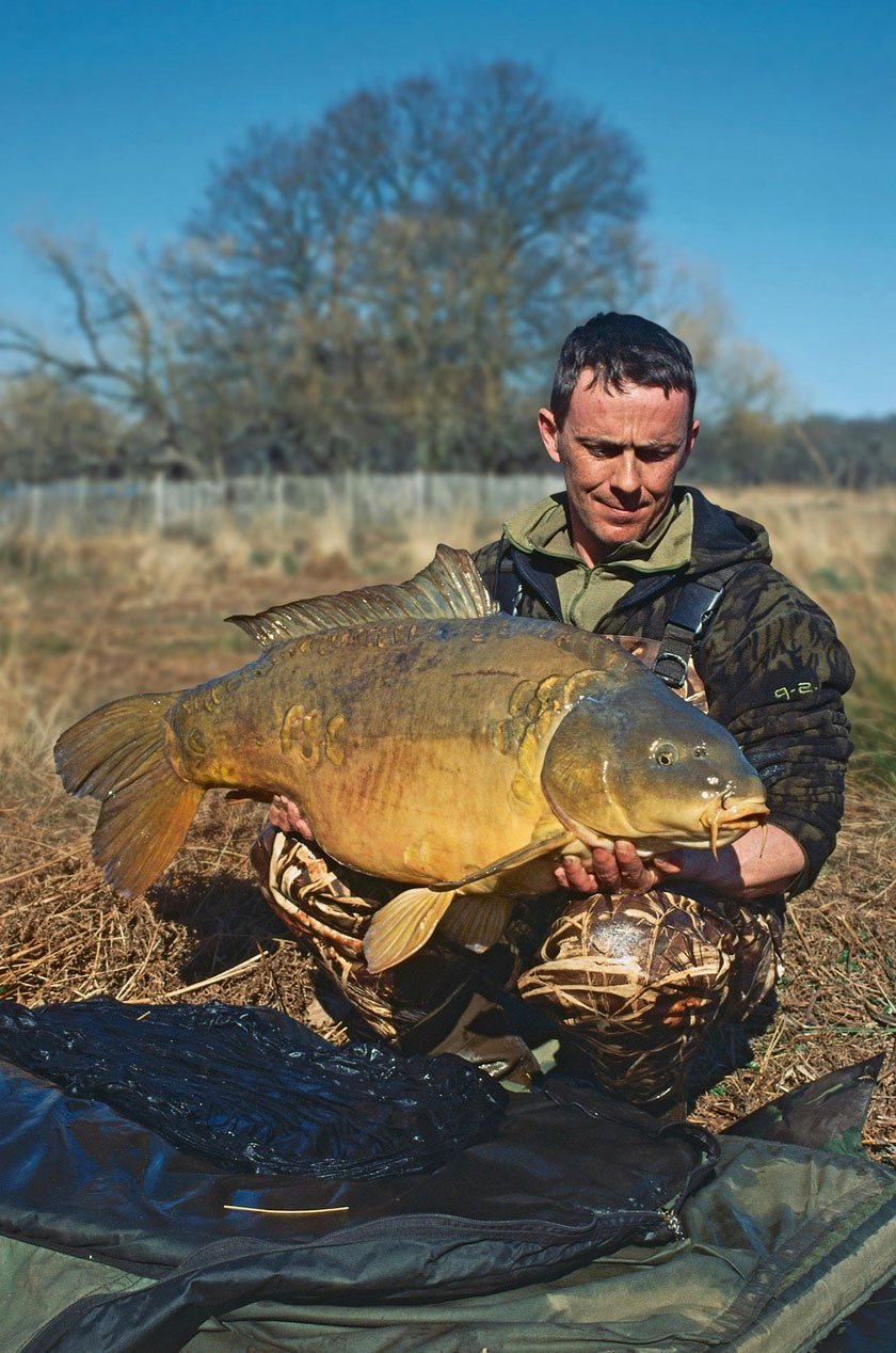 Royal Forty (46lb 10oz) / Найджел Шарп (Nigel Sharp) / Richmond Park